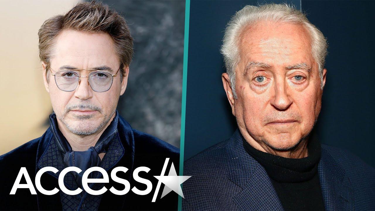 Robert Downey Jr pays tribute to 'true maverick' film-maker father