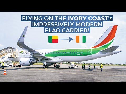 TRIPREPORT | Air Côte d'Ivoire (ECONOMY) | Cotonou - Abidjan | Airbus A320