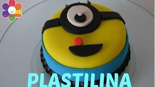 PLAY DOH|How to make Minions cake|Como hacer un pastel Minions de plastilina| SALILA SHOW