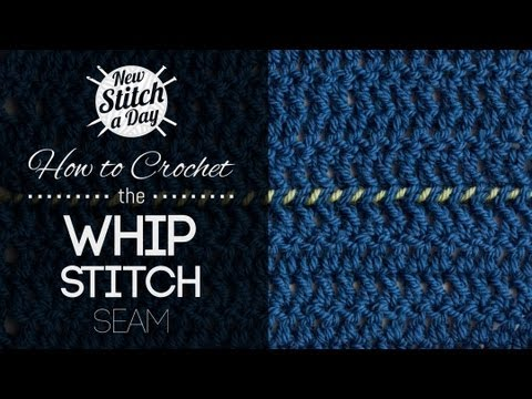 How to Crochet the Whip Stitch Seam