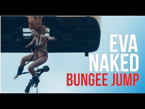 A naked girl Eva did bungee jumping, Kekars, episode 2из YouTube · Длительность: 1 мин41 с