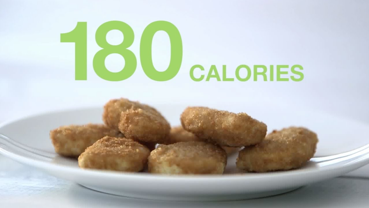 A veggie nugget vs a chicken nugget