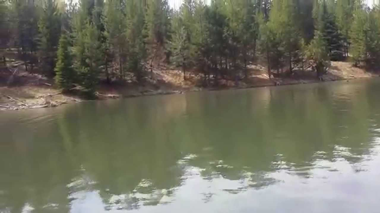 Fishing at herrick reservoir youtube for Idaho out of state fishing license