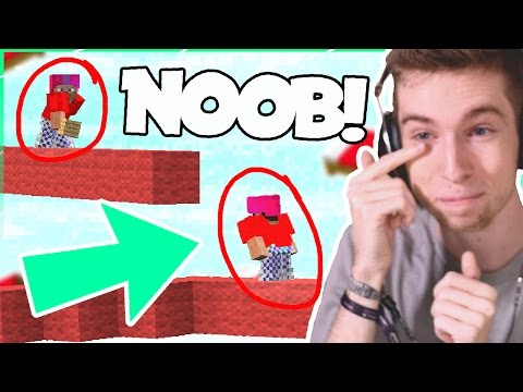 FIGHTING THE GREATEST NOOB of ALL TIME! - SOLO Bed Wars #4