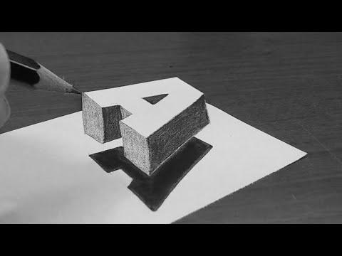 تعليم رسم ثلاثي الابعاد سهل وبسيط جدا 3d Art Youtube