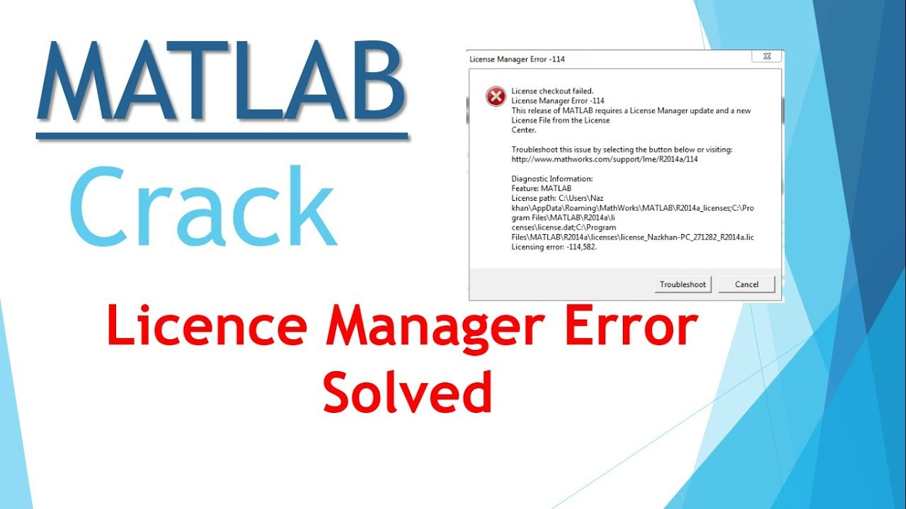 Matlab license file crack 2016a | Matlab 2018a Crack + Activation
