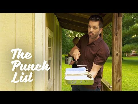 The Punch List: Shed Transformation