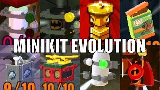 All Minikits in Lego videogames! (2005 - 2018)
