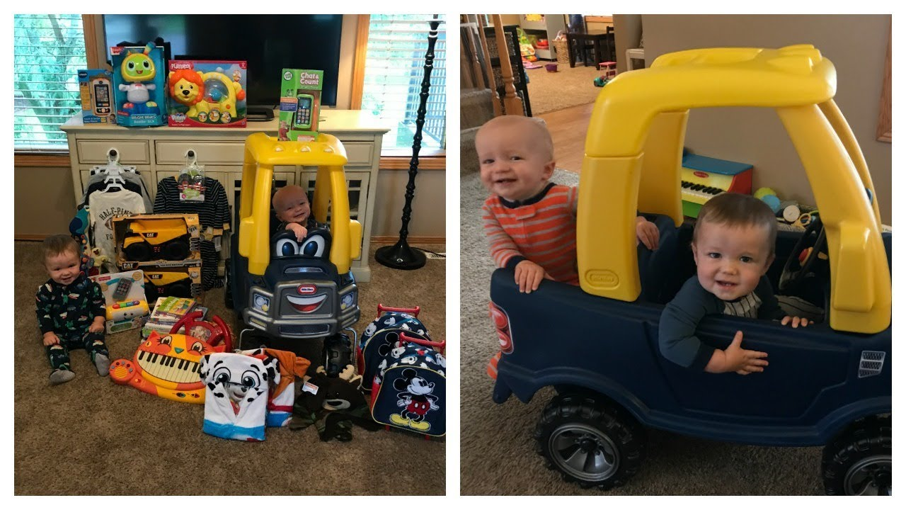BOYS FIRST BIRTHDAY GIFT HAUL!  sc 1 st  YouTube : baby first birthday gift - medton.org