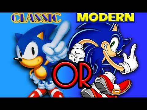 Sonic Classic Or Modern Youtube