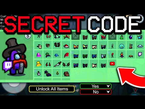 SECRET CODE TO UNLOCK ALL NEW SKINS, PETS U0026 HATS FOR FREE IN AMONG US! (iOS/ANDROID/PC)