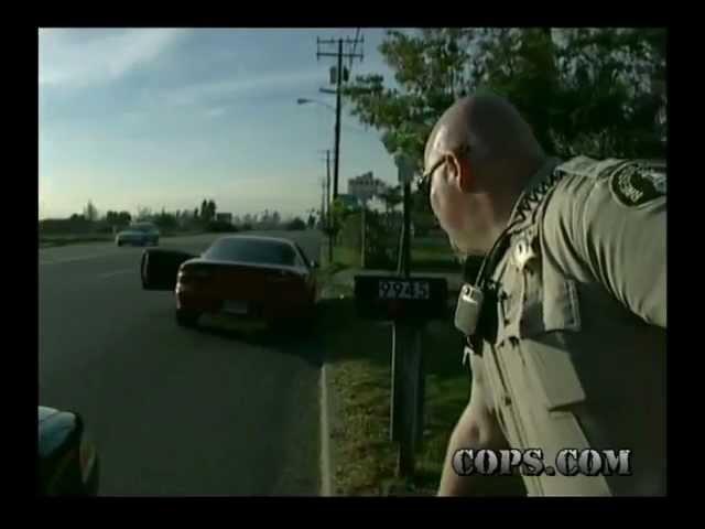 Bicycle vs Auto, Deputy Jason Corey, COPS TV SHOW