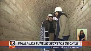 Viaje a los túneles secretos de Chile
