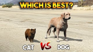GTA 5 ONLINE : CAT VS DOG (WHICH IS BEST?)