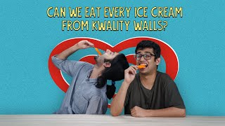 Can We Eat Every Ice Cream From Kwality Walls? | Ok Tested