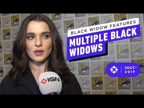 Black Widow Features Multiple Black Widows - Comic Con 2019