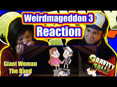 Gravity Falls - Weirdmageddon part 3 - Reaction - Giant Cartoon Show #36 (G F Friday #58)