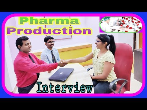Pharmaceutical #PRODUCTION #Interview : #MANUFACTURING Questions