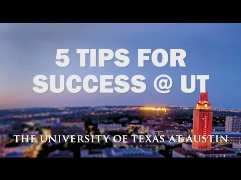 5 Tips For Success @ UT
