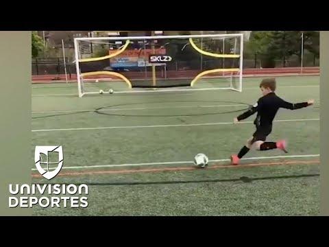 Leo Christiano: el niño que une a los dos cracks con su nombre y sus maravillosas jugadas