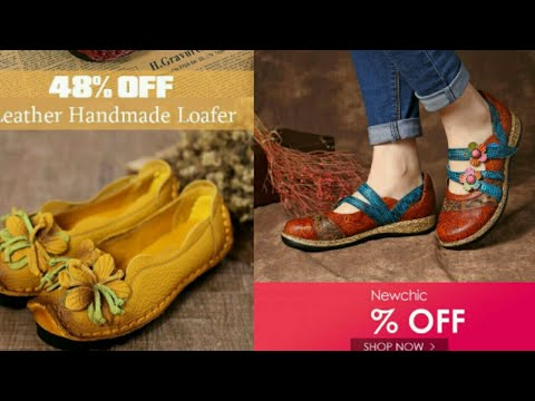 NewChic SOCOFY Love Shape soft sandals