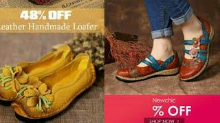NewChic SOCOFY Love Shape soft sandals/ Sale 2019