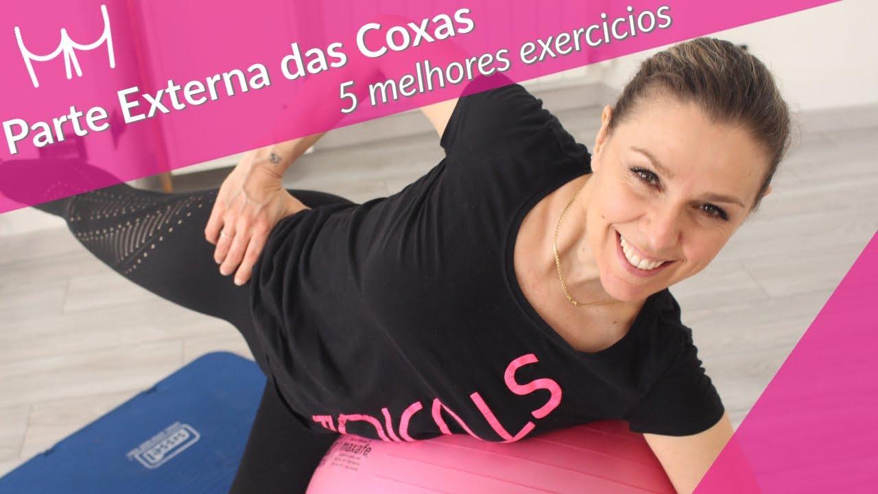 5 Melhores Exercícios para Parte Externa das Coxas