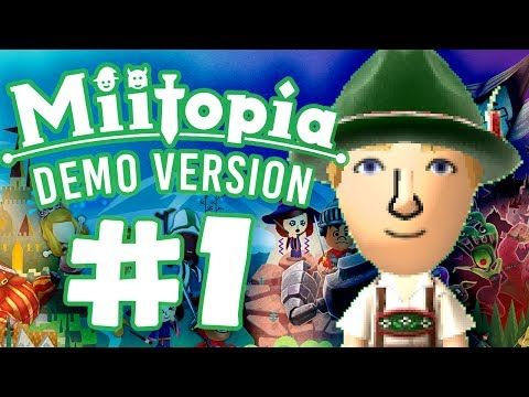 Miitopia Demo #1 - LOVE GOD IS BACK?!