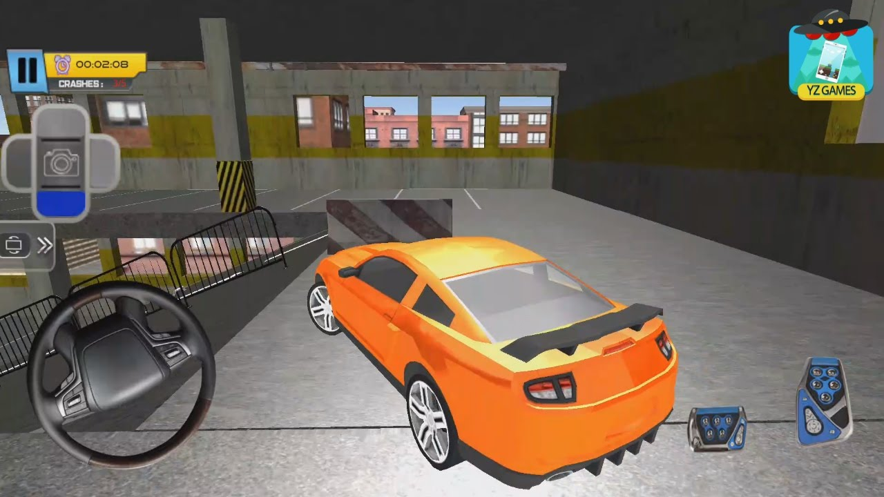 Multi Storey Car Parking 3d Driving Car Simulator