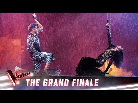 The Grand Finale: Kelly Rowland and Zeek Power sing 'Earth Song' | The Voice Australia 2019
