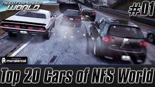 Need For Speed World: The Final Goodbye #01 | Top 20 Cars of NFS World