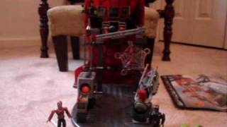 Mega Bloks Spiderman 3 Secret Lab Assault Review