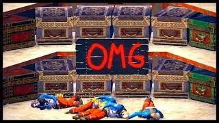 OMG CLANS LOADED LOOT ROOM | SOLO RAIDING