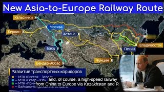 Russia Is All In: Putin Wants To Build A 8,400-Mile Train Route Connecting London To Tokyo