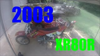 2003 Honda XR80R Review And Startup!!
