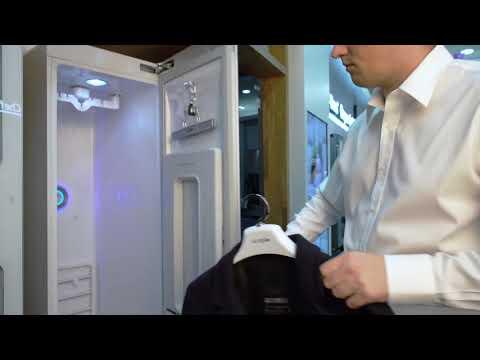 Паровой шкаф для ухода за одеждой LG S3RERB Styler (сушка)