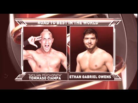 Tommaso Ciampa vs Ethan Page • Music Video