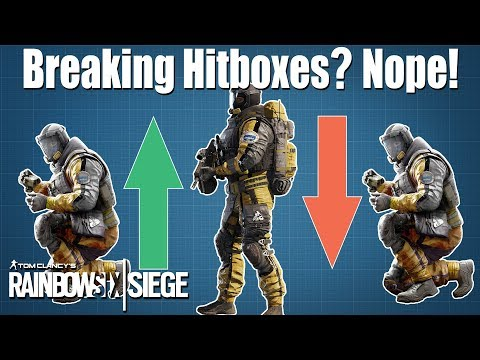 Crouch Spamming does NOT break the Hitbox! - Rainbow Six Siege