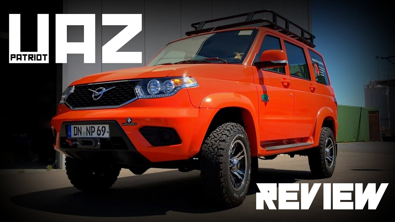 UAZ Patriot - Review - YouTube