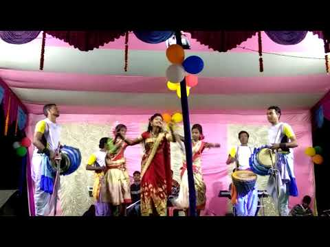 Ghum Ghum Ghum Chokhe Tor/chumki Rani Jhargram Stage Programme/new Jhumar 2019