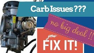 Harley Davidson How to remove CV Carburetor EASY JOB !!!