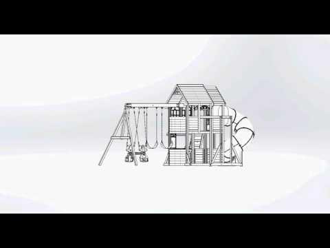 Big Backyard Premium Summerlin Retreat Wooden Play Set / Swing Set | Toys R Us Canada