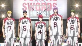 Kuroko no Basket: Last Game 「AMV」 - Black and Blue [HD]