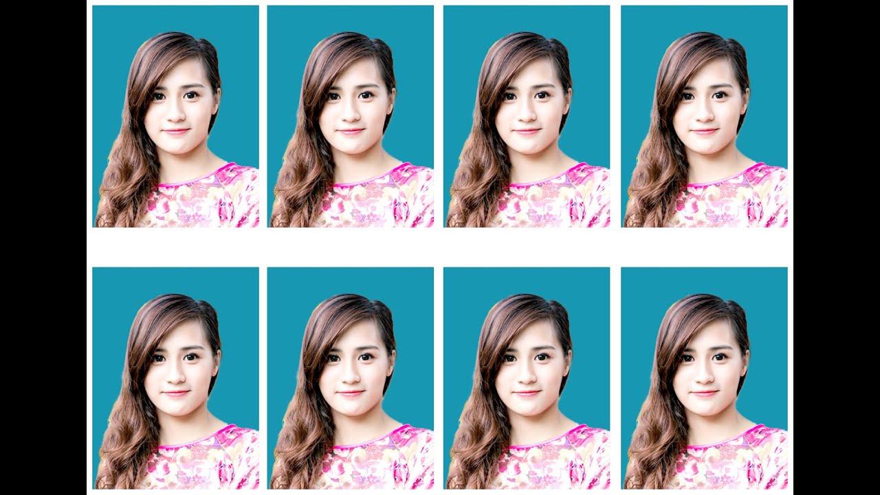Chỉnh sửa ảnh thẻ, Tạo Action tự động xếp ảnh vào kích thước in ấn với Adobe Photoshop CC