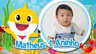 CONVITE ANIMADO VIRTUAL BABY SHARK