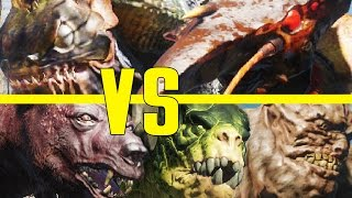 Far Harbor Beasts VS Commonwealth Creatures! - Fallout 4 Creature Deathmatch
