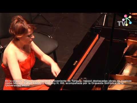 Concierto de Ruya Taner, en Teatro Municipal de Las Condes