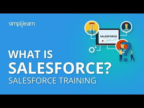 What is Salesforce | Salesforce CRM Tutorial For Beginners | Salesforce Training | Simplilearn