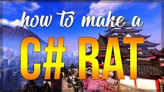 C#: HOW TO MAKE A RAT 2018 [connection and first cmd (#1)] - iLinked