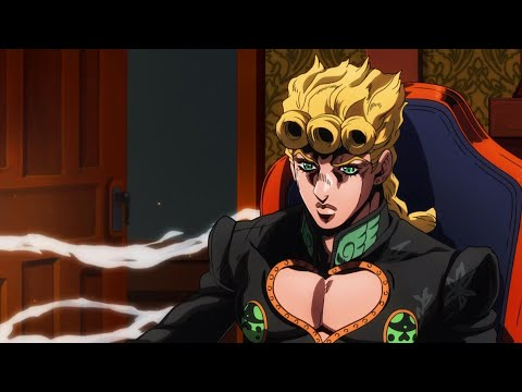 JoJo Part 5: Golden Wind's Ending